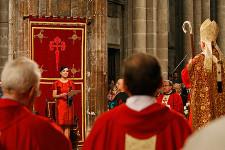 Ofrenda al Apóstol (II). Acto solemne