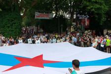 Manifestación del Día da Patria Galega convocada por el BNG