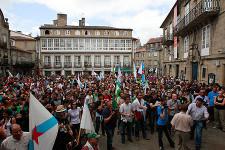 Manifestación de Causa Galiza