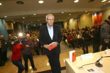 Touriño presenta o seu libro