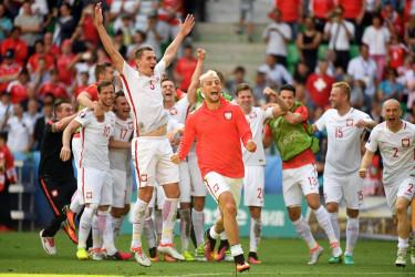 Suiza 1 - 1 Polonia