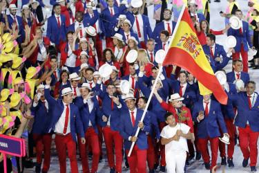 Inauguraci�n de los Juegos Ol�mpicos de R�o de Janeiro, en Brasil
