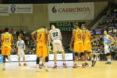Partido de ACB entre Obradoiro y Herbalife Gran Canaria (87-90)