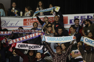 Partido de ACB entre Obradoiro y Herbalife Gran Canaria, gradas