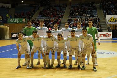 Partido Santiago Futsal frente a Levante (3-3)