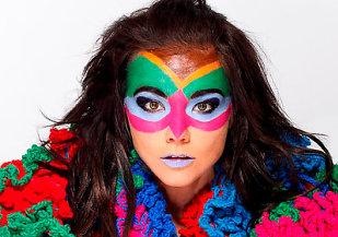 La cantante Bj�rk - FOTO: bjork.com