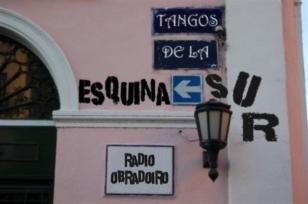 Rinc�n de la Plaza Dorrego, en el tanguero barrio de San Telmo, en Buenos Aires - FOTO: Daniel Rilo