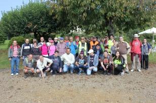 Participantes na peregrinaci�n de FEAFES- Galicia - FOTO: FEAFES
