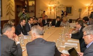 Reuni�n do alcalde co Foro de Directores de Hoteis de Santiago a mediados de setembro - FOTO: Concello de Santiago