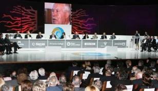 Auditorio de Galicia: El primer cambio fue en 2003 y all� se celebr� hasta 2008 (Foto 2006) - FOTO: ecg