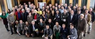 Foto de familia de los participantes en la celebraci�n - FOTO: Colegio M. Peleteiro