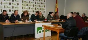 Imaxe do pleno no que foron aprobados os presupostos - FOTO: Pablo Quinteiro