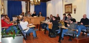 Pleno celebrado onte en Ames - FOTO: Concello de Ames