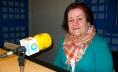 Manola de la Fuente, nos estudios de Radio Obradoiro - FOTO: Miguel Seoane