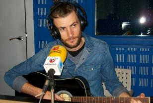 Levi Weaver en Radio Obradoiro - FOTO: Radio Obradoiro