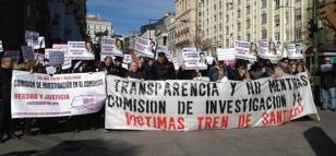 Imagen de la movilizaci�n de los afectados en Madrid, el martes 24 de febrero - FOTO: Europa Press