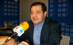 Xos� Ant�n L�pez, este venres en Radio Obradoiro - FOTO: Miguel Seoane