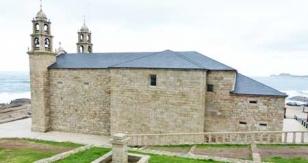 La restauraci�n del santuario de la Barca ya est� concluida pero falta formalizar la entrega de la obra - FOTO:  J. M. R.