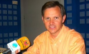 Jos� Mi�ones, este luns en Radio Obradoiro - FOTO: R.O.