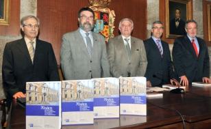 De esquerda a dereita, Jos� Cabezas, Juan Gestal, Juan Via�o, Luis Verde e Jos� Castillo - FOTO: Santi Alvite