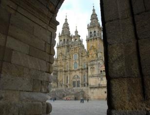 Fachada de la Catedral de Santiago - FOTO: C. Arango