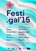 Cartaz do Festigal 2015 - FOTO: R.O.