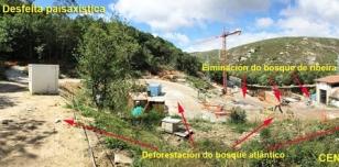 Gr�fico remitido por Adega sobre las obras de la central de Ponte Olveira II en el r�o Xallas.  - FOTO: Adega