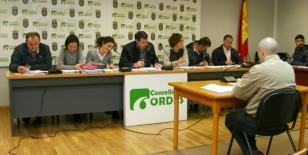 Pleno do Concello de Ordes - FOTO: Concello de Ordes