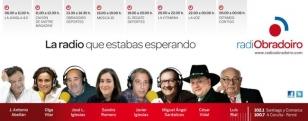 Esquema de la nueva parrilla de Radio Obradoiro de lunes a viernes - FOTO: R.O.