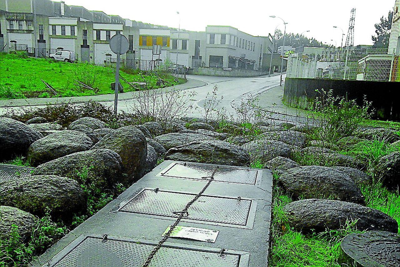 Estaci�n de Depuradora de Augas Residuais situada no Concello de Ames.  - FOTO: M.M.O.