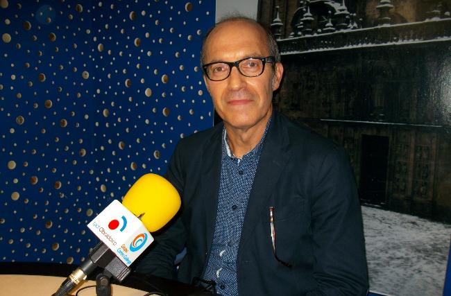 Sen�n Barro en Radio Obradoiro - FOTO: Radio Obradoiro