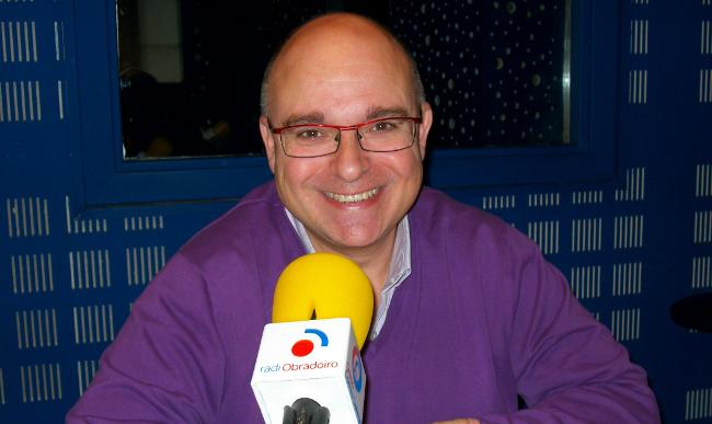 Paco Reyes, este luns en Radio Obradoiro - FOTO: R.O.