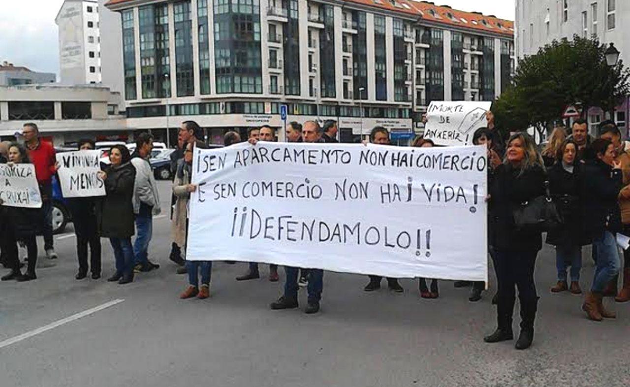 Manifestación de los afectados celebrada hace dos semanas. - FOTO: S.E
