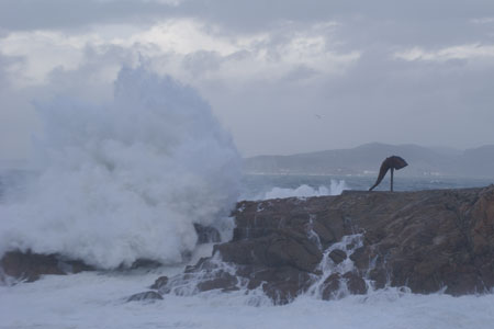 Tu foto del temporal Becky en Galicia