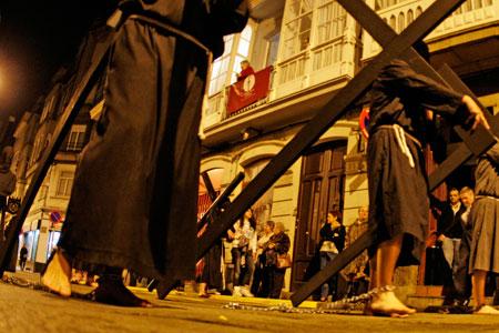 Procesión de la Penitencia en Ferrol