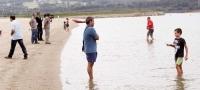 Inauguraci�n de la playa artificial de As Pontes