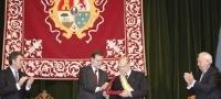 Albor recibe la Gran Cruz de la Orden de Isabel la Cat�lica
