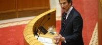 Comparecencia de Feij�o en el Parlamento