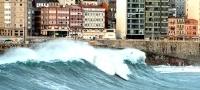 Im�genes del temporal en Galicia