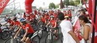 P�blico asistente al final de la Vuelta a Espa�a