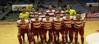 Partido entre Santiago Futsal y Palma Futsal