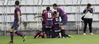 Partido entre Racing de Ferrol y Huesca, fase de ascenso (0-4)