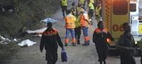 Tr�gico accidente en un rali en Carral, con siete muertos