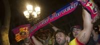 Final de Copa entre el Bar�a y Sevilla